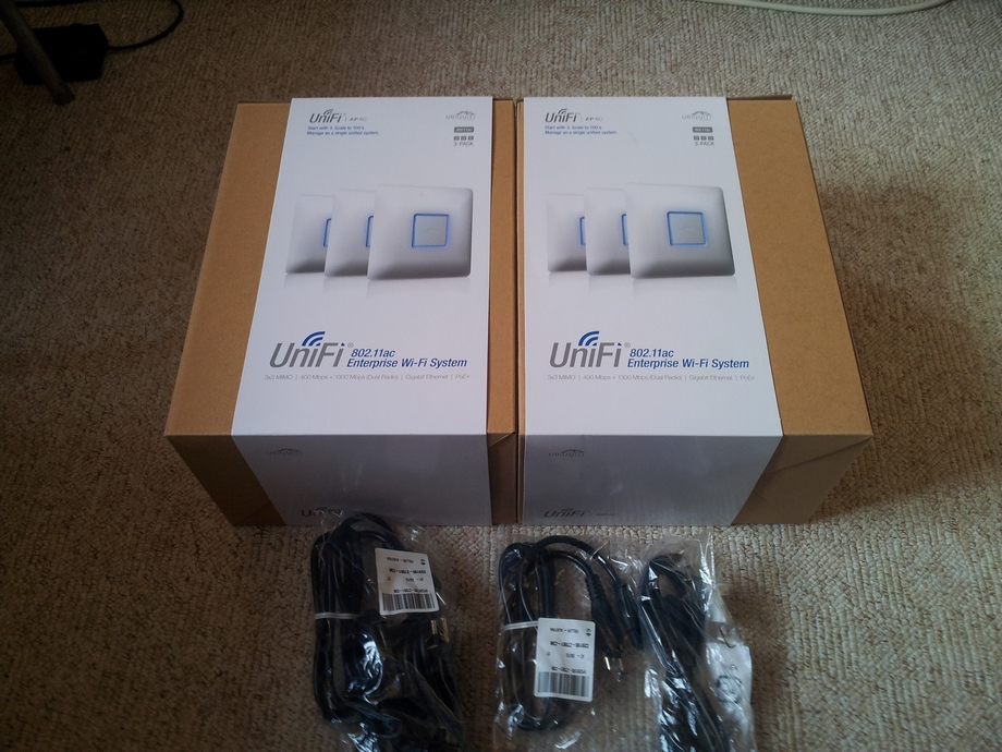 Using Ubiquti UniFi devices for optimal Wi-Fi experience